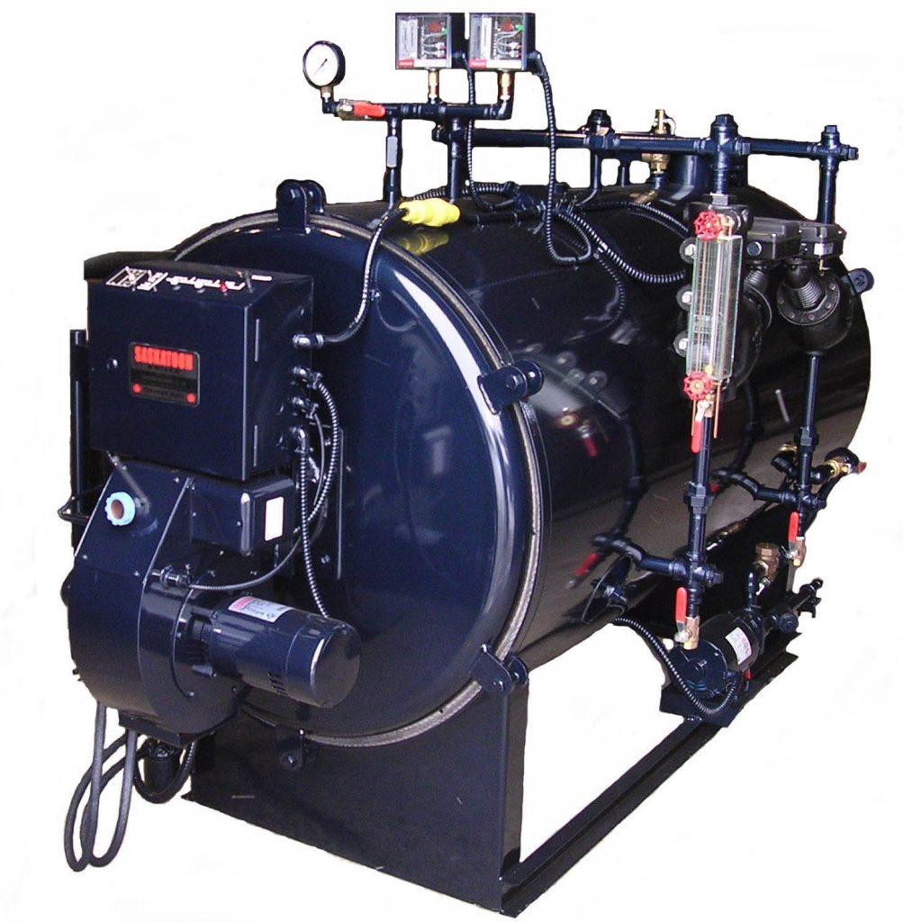 Saskatoon Boiler oil field boiler