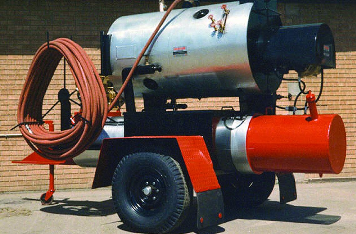Saskatoon Boiler portable boiler