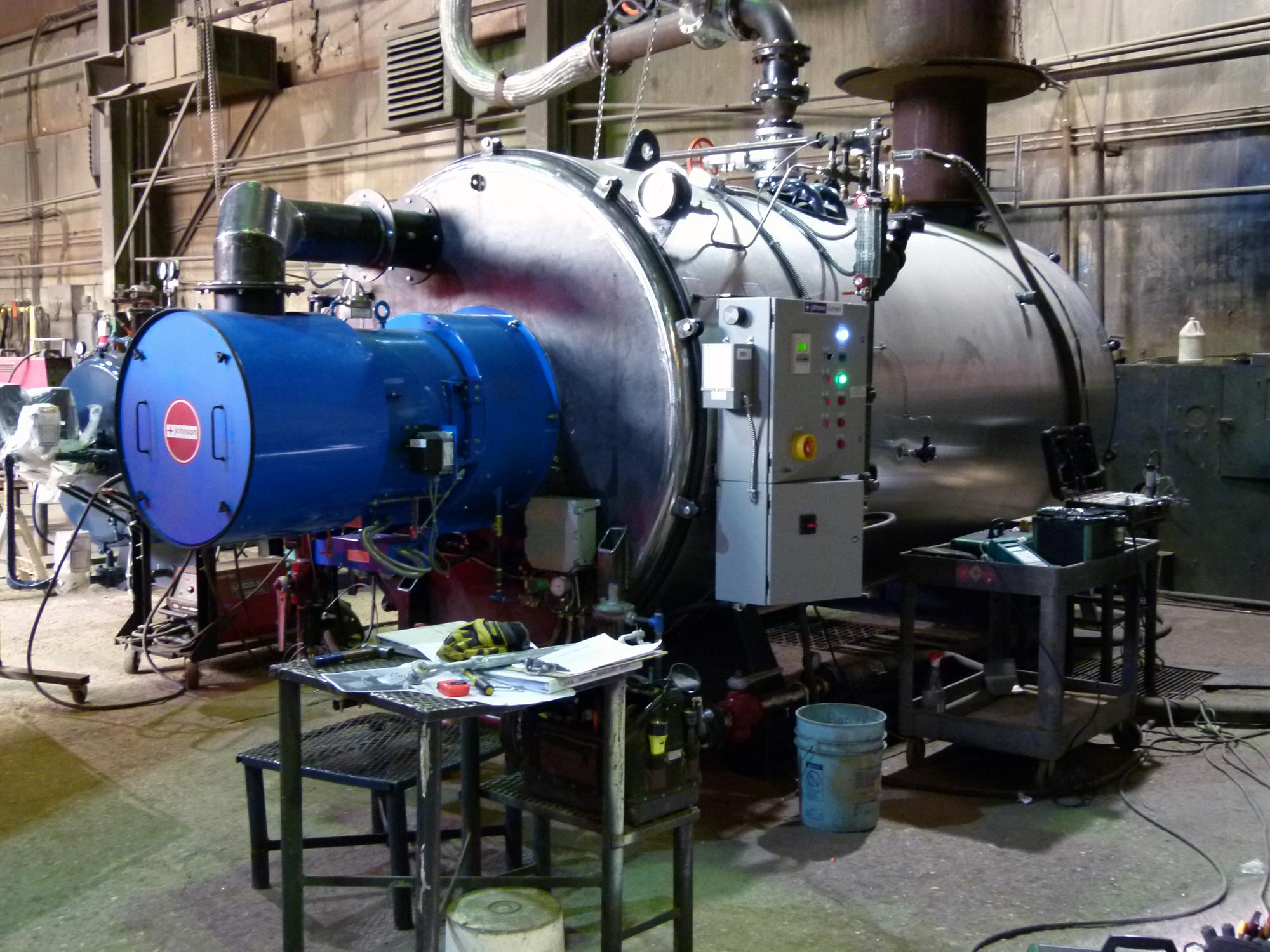 Low NOx boiler